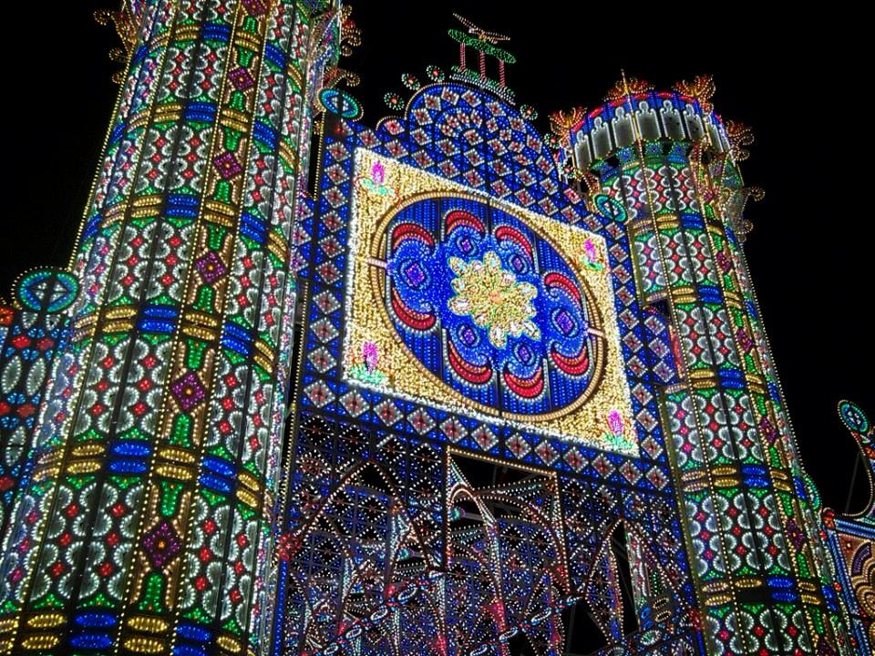 Festa di santa domenica a scorrano puglia video salento for Luminarie puglia