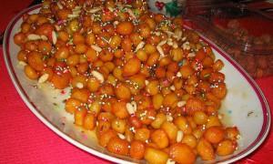 Purcidduzzi dolce tipico natalizio salentino