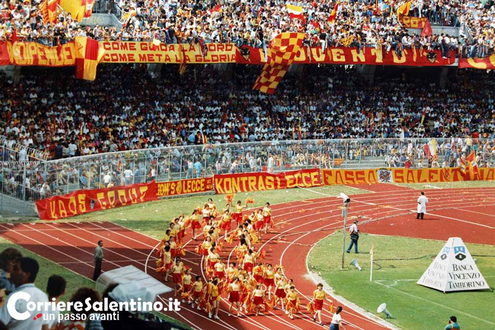 Lecce cha cha cha (1985) memorabile canzone per il Lecce in serie A