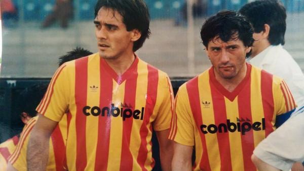Barbas e Pasculli gli argentini del Lecce degli anni '80 nei primi anni in serie A