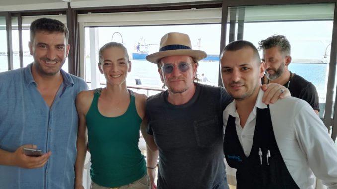 Sorpresa a Gallipoli, arriva Bono Vox degli U2 in vacanza