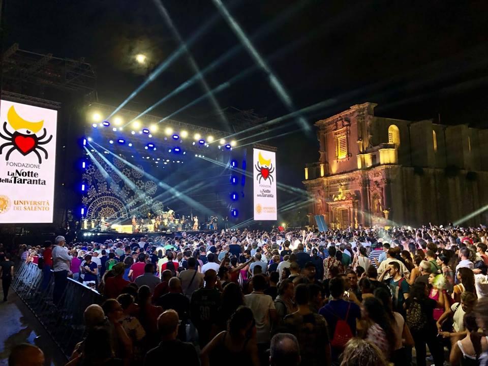 Notte della Taranta 2018, grande successo al concertone di Melpignano