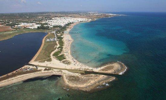 Le spiagge di Lido Marini, sulla costa ionica del Salento