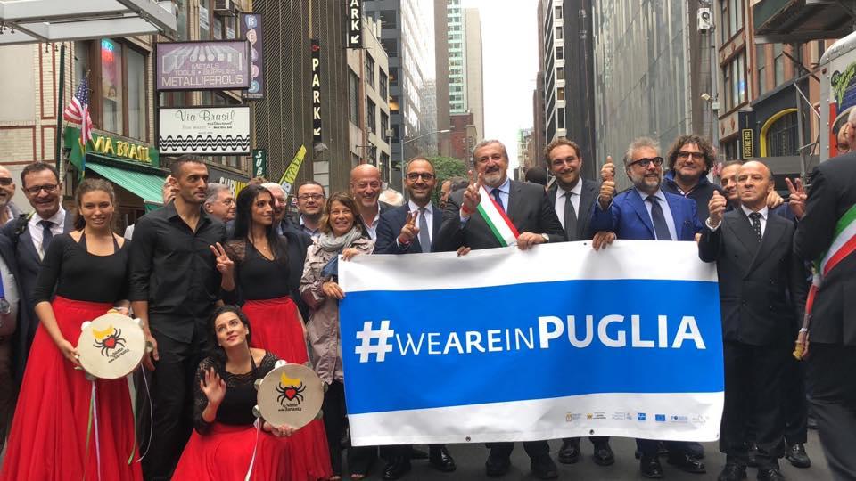 La Regione Puglia arriva negli U.S.A e si presenta con la Pizzica salentina