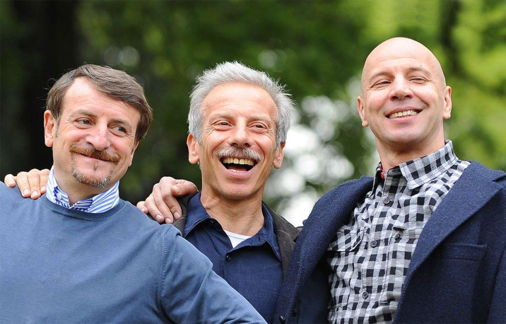"""Aldo, Giovanni e Giacomo, il trio torna nel Salento per girare il film """"Odio l'estate"""""""