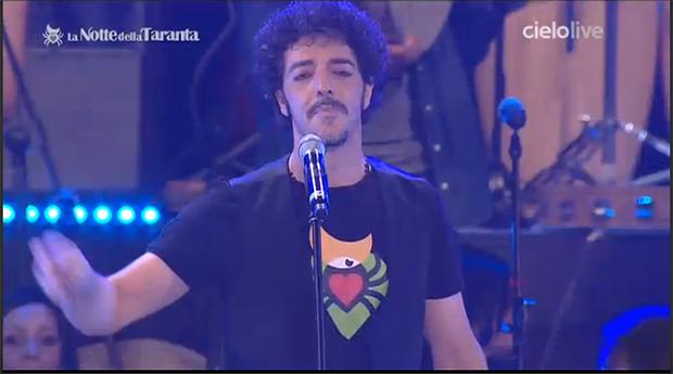 Max Gazzè alla Notte della Taranta 2013
