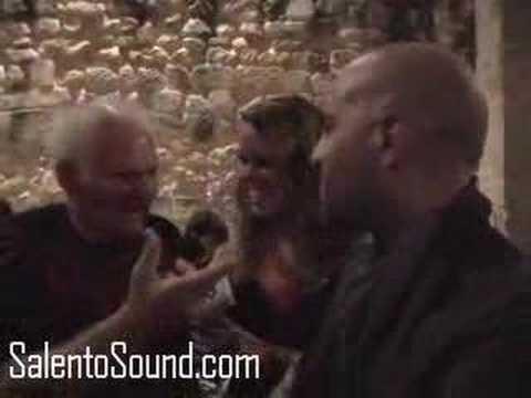 Intervista a Uccio Aloisi e Giuliano Sangiorgi - Notte della Taranta 2007