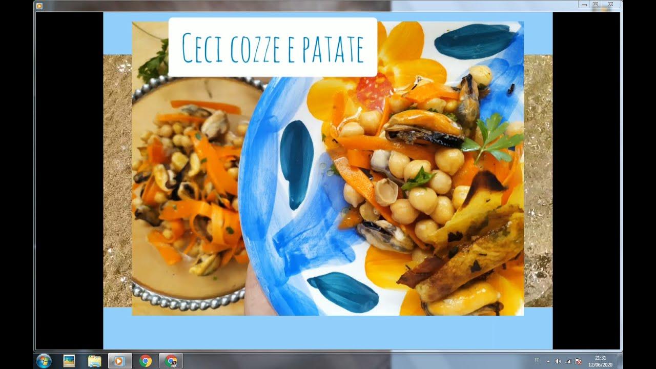 COZZE CECI E PATATE dal mare del Salento fino alla tavola di tutti gli italiani