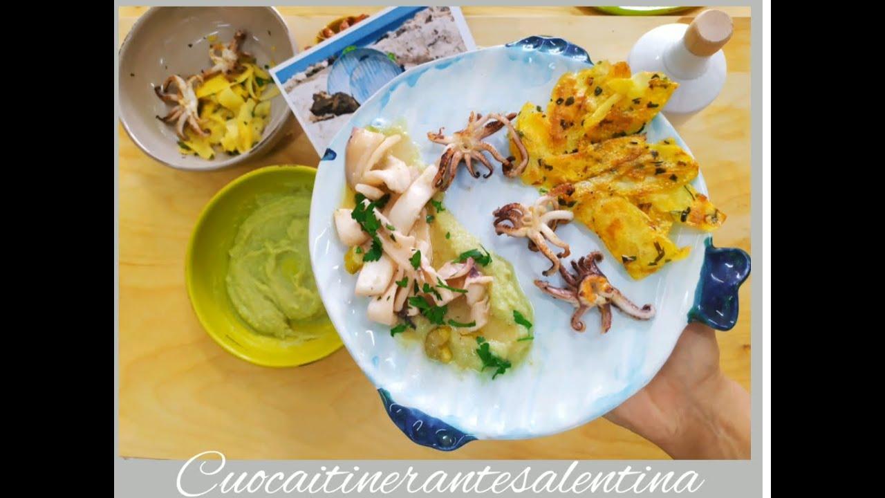 La ricetta salentina del calamaro cotto in pentola di terracotta