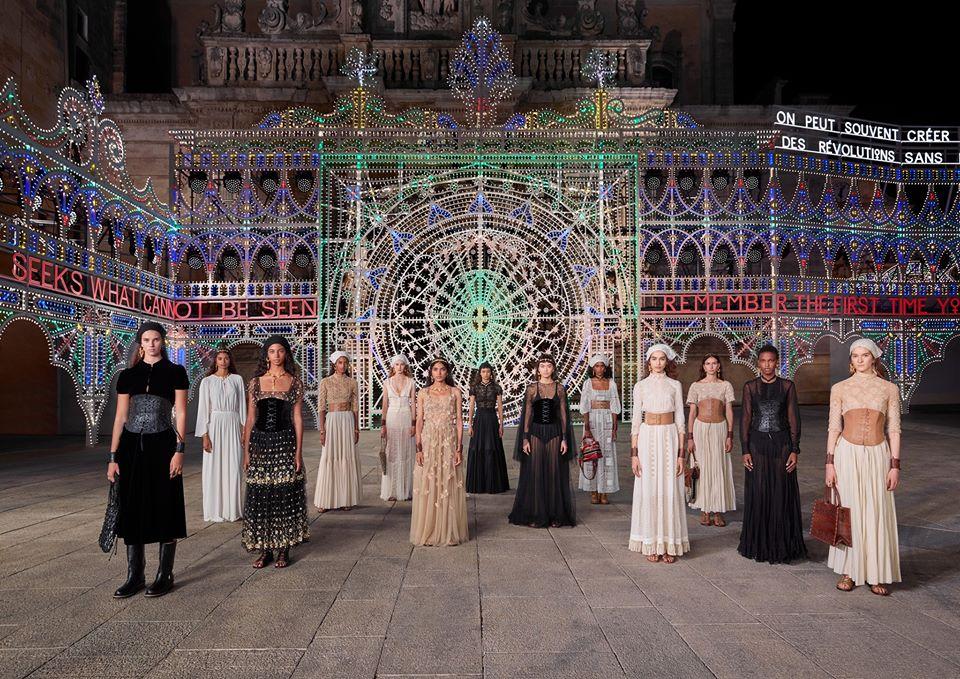 Tutto il video della presentazione della sfilata Dior Cruise 2021 collection a Lecce