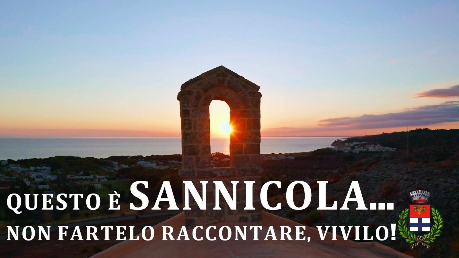 """Lo spot di promozione turistica di Sannicola: """"questo è SANNICOLA ... Non fartelo raccontare, Vivilo!"""""""