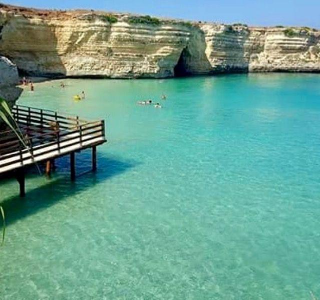 La Baia del Mulino a Otranto