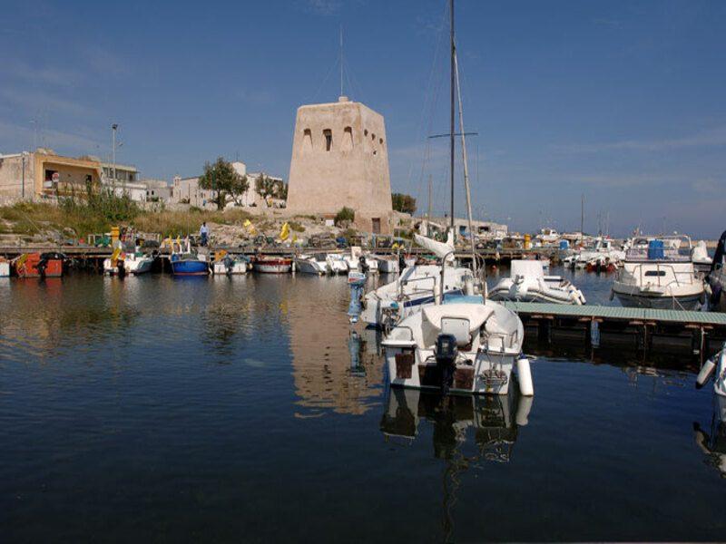 il porto turistico di San Foca, uno dei più importanti in Puglia