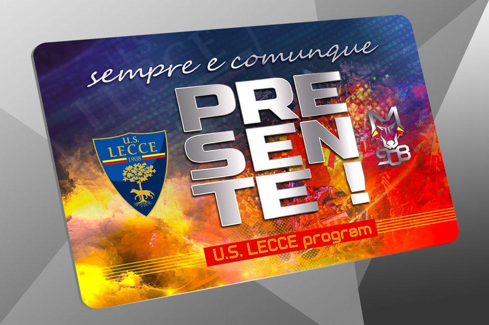 La U.S. Lecce Program, per la stagione 2020-2021