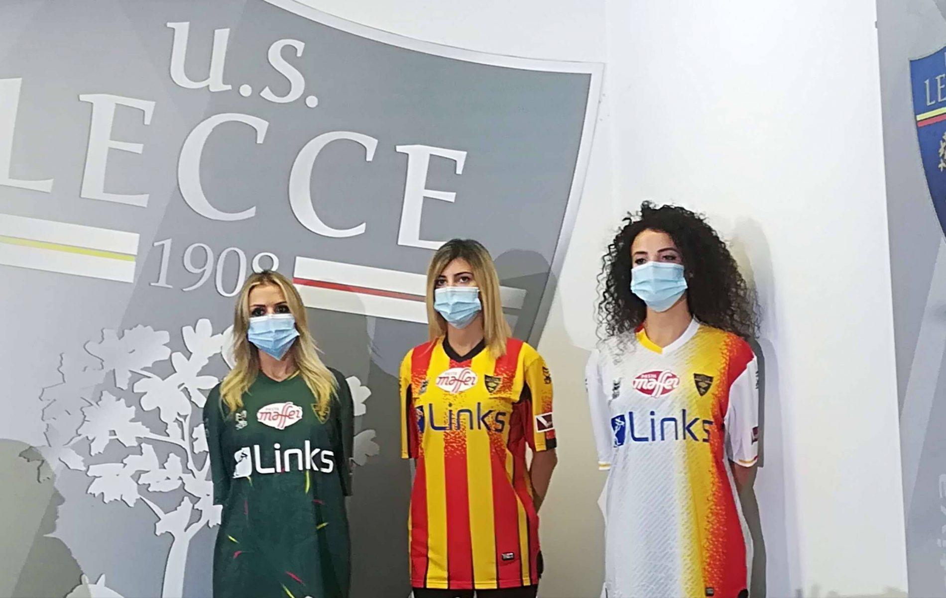 Links è il nuovo sponsor del Lecce calcio nella stagione 2020-2021