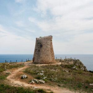 La Torre Minervino sulla litoranea adriatica di Santa Cesarea Terme