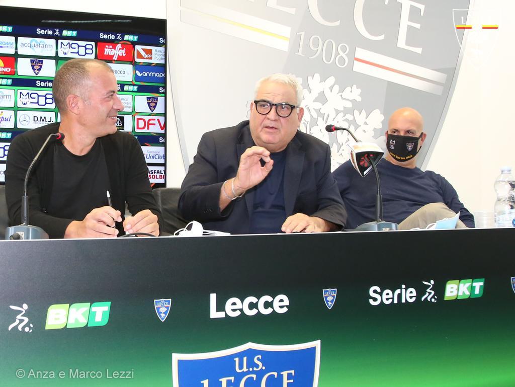 U.S. Lecce: Intervento del direttore generale dell'area tecnica Pantaleo Corvino