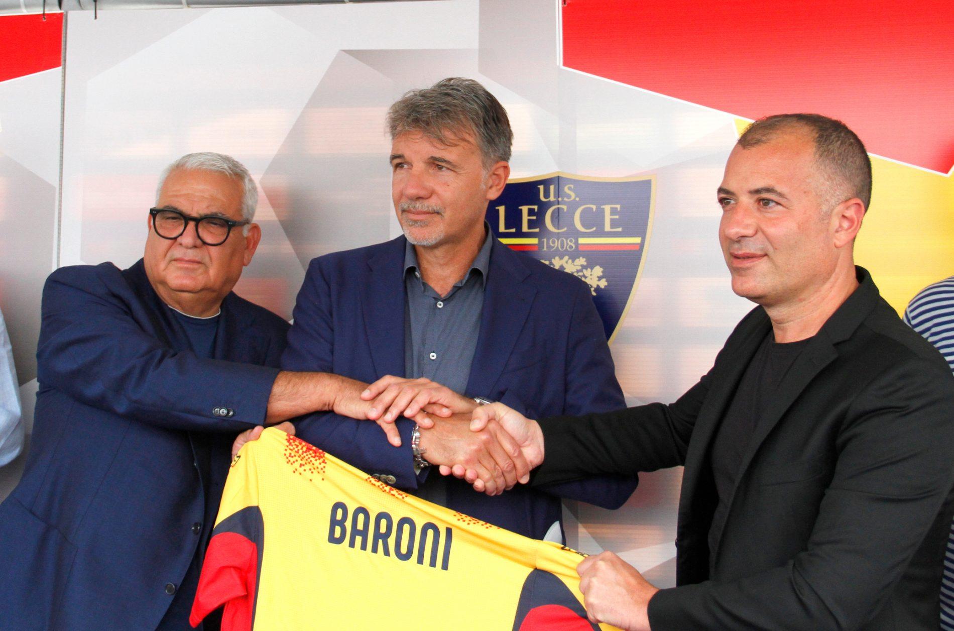 U.S. Lecce: Conferenza stampa di presentazione di mister Marco Baroni