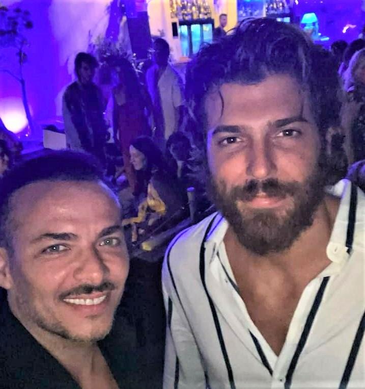 L'attore turco Can Yaman in vacanza in Salento