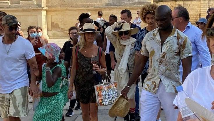 Madonna torna a Lecce nell'estate 2021, a bordo di un treno storico